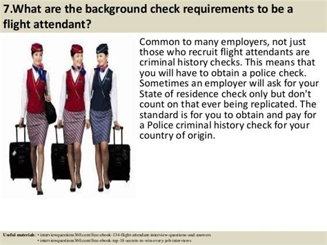 Flight Attendant Background Check Top 10 Flight Attendant Questions Answers Pdf