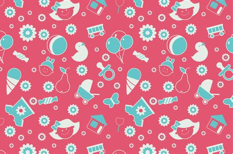infant pattern video seamless baby pattern patterns on creative market