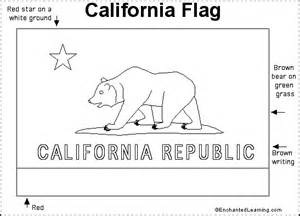 california state color california state flag coloring page az coloring pages