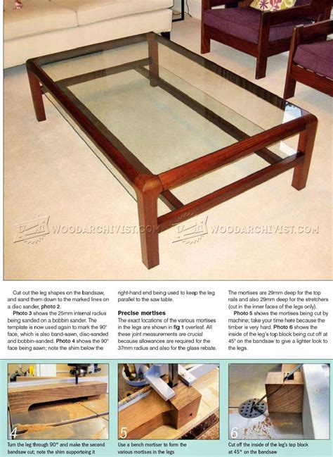 wooden coffee table display plans display coffee table plans woodarchivist