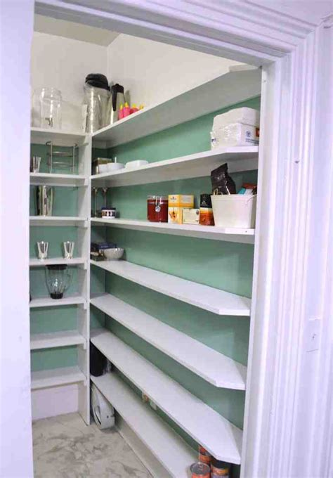 Building Pantry Shelves Design by Diy Pantry Shelves Decor Ideasdecor Ideas