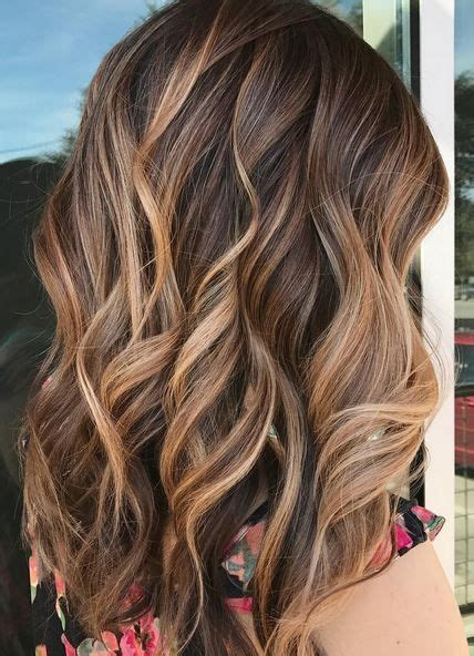 Brunette Hairstyle With Lots Of Hilights For Over 50 | 17 best ideas about brunette highlights on pinterest