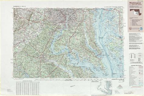 washington dc physical map washington topographic maps va md dc usgs topo