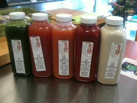 Snap Kitchen Juices by City Guide Best Non Alcoholic Drinks