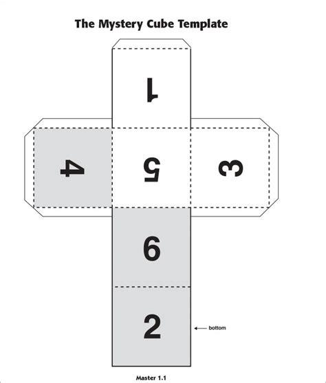 Cube Template 3d Cube Template Free Premium Templates 3d Template Pdf