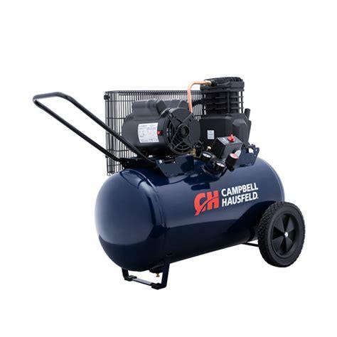 air compressor 20 gallon single stage cbell hausfeld vt6290