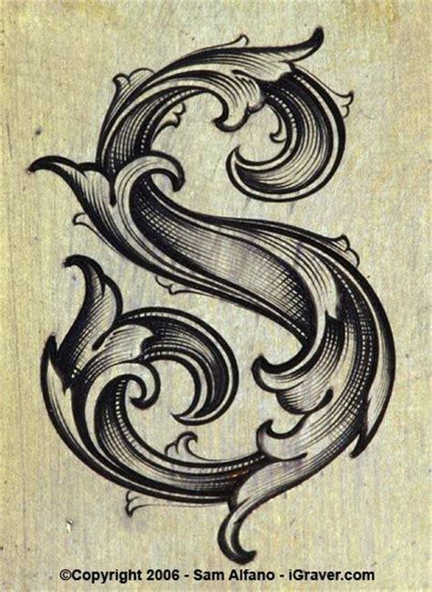 tattoo scroll generator vintage leaf font abduzeedo graphic design inspiration