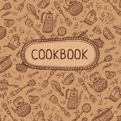 cookbook cover template free cookbook cover designs templates book cover vectors