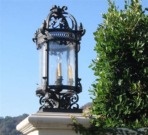 outdoor column mount lighting transitional outdoor column mount lighting