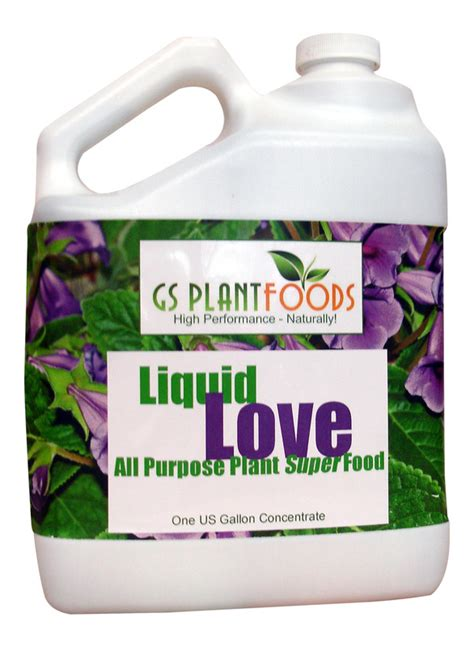 All Natural Flower Food | liquid love all purpose plant food organic and natural