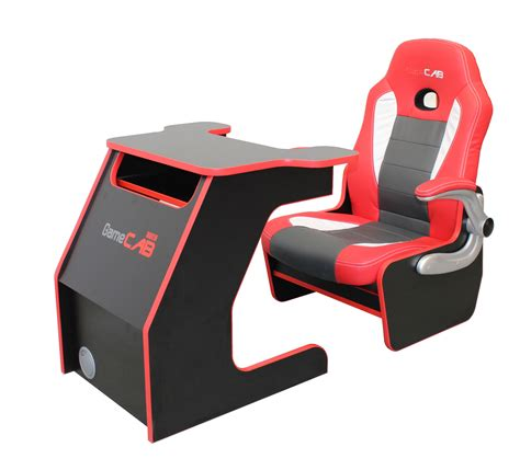 Gamecab Racer Chair Desk Liberty Games Gaming Chair Desk