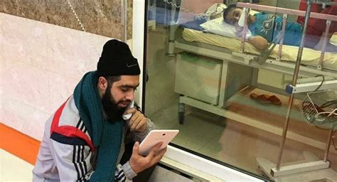 persian men in bed iranian teacher visits bed ridden boy fighting cancer in hospital