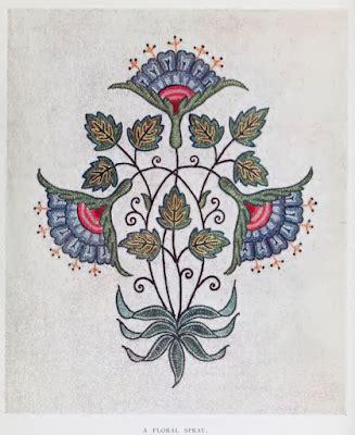laurelhurst craftsman bungalow: embroidery book 1909