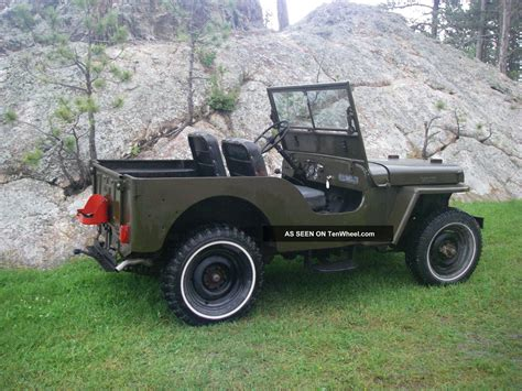 1948 Jeep Willys 1948 Jeep Willys Cj 2 2 2l