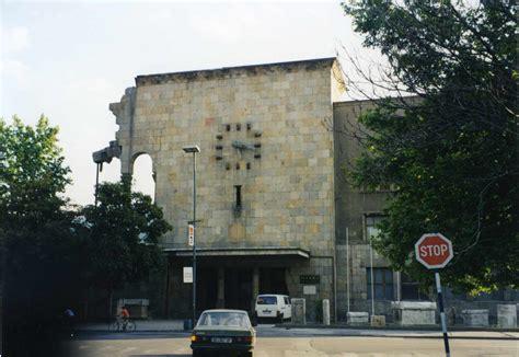 skopje jugoslawien vom erdbeben zerst 246 rter alter bahnhof in skopje
