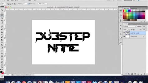 how to make a dubstep how to make a cool dubstep logo youtube