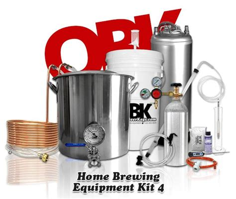 complete home brew equipment kegging kit