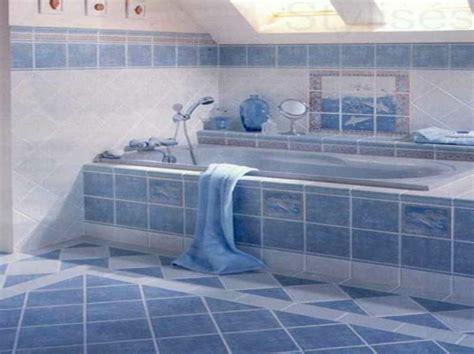 20 beispiele f 252 r blaue bodenfliesen im badezimmer - Blue Tile Badezimmer