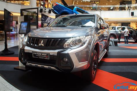 2017 Mitsubishi Triton Esc 7 Airbags Prices Up Auto