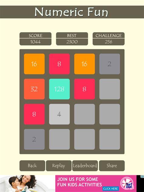 2048 numeric game ios app source code puzzle game