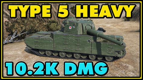 Top 5 Hefty Gadgets For Maximum Damage by World Of Tanks Type 5 Heavy 8 Kills 10 2k Damage