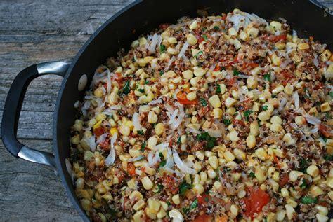 tri color quinoa cheese corn and manchego tri color quinoa salad