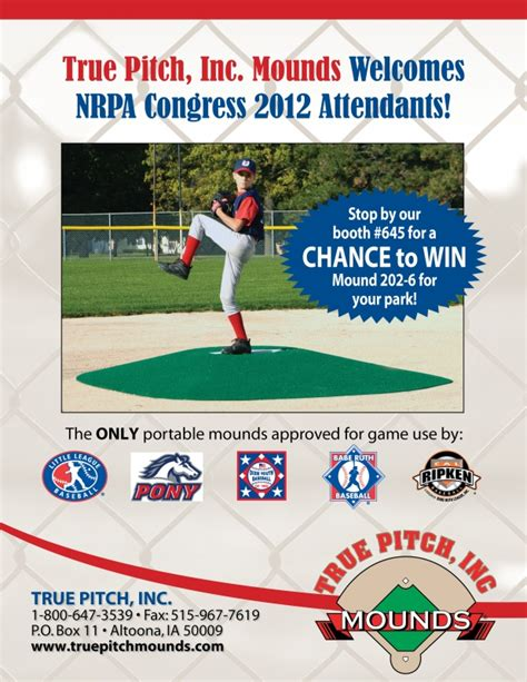Mound Is Giving Away 10 Microphones by True Pitch Is Giving Away A Free Portable Mound True