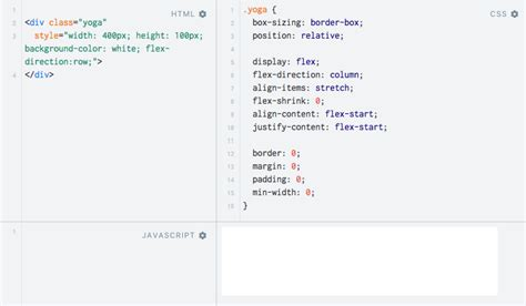 javascript layout engine yoga tutorial using a cross platform layout engine