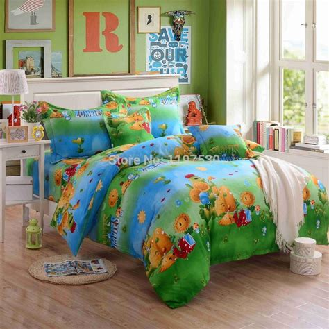 vs bedding 2017 new design plants vs zombies bedding set without