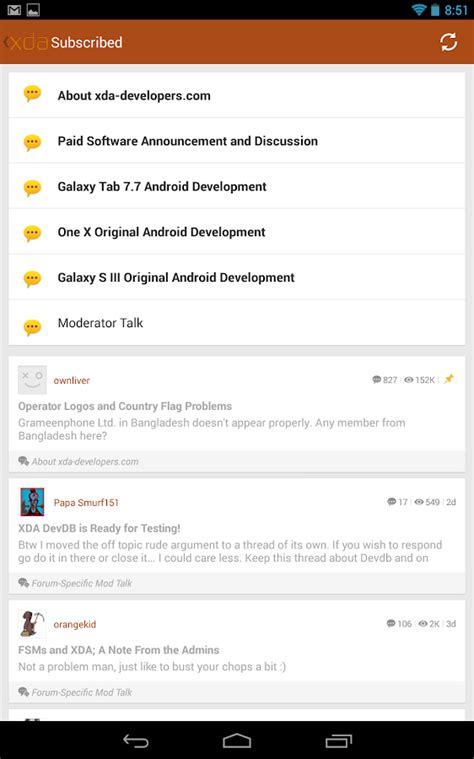 play store themes xda xda legacy android apps on google play