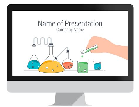 science powerpoint template presentationdeck