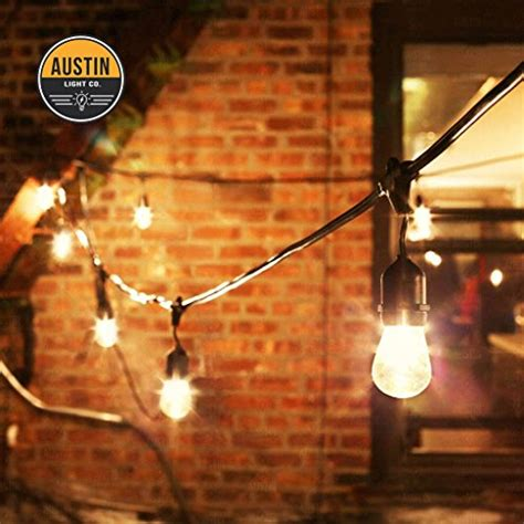Hanging Patio String Lights Outdoor Commercial String Globe Lights With Hanging Drop Sockets 50ft 24 Sockets And Bulbs
