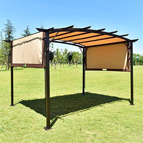 tangkula 12 x 9 pergola gazebo outdoor patio garden