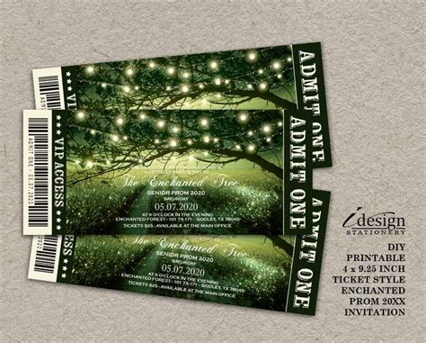 25 Best Ideas About Prom Invites On Pinterest Deco Invitation Ideas Homecoming Date Ideas Prom Ticket Template Free