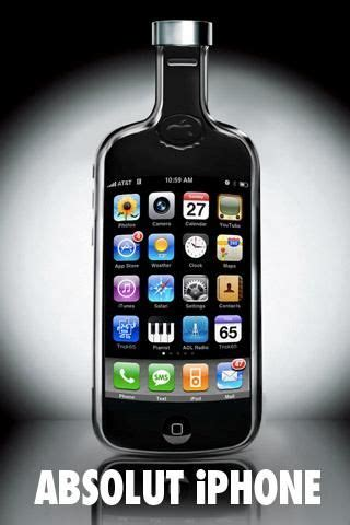 Iphone Absolut Vodka absolut vodka launched a iphone app ads i