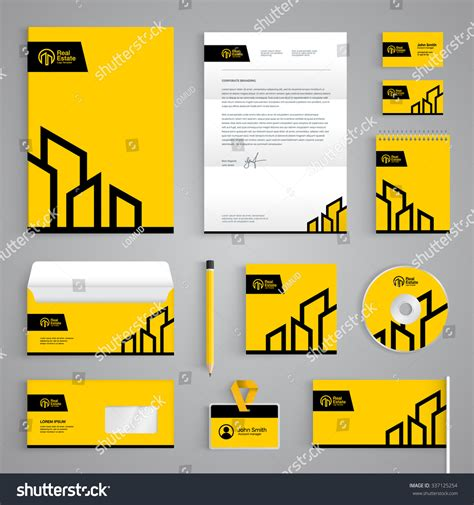 sweethomes catalog cover ralev logo brand design corporate identity branding template real estate stock