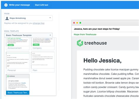 Intercom Treehouse Email Style Guide Intercom Email Templates