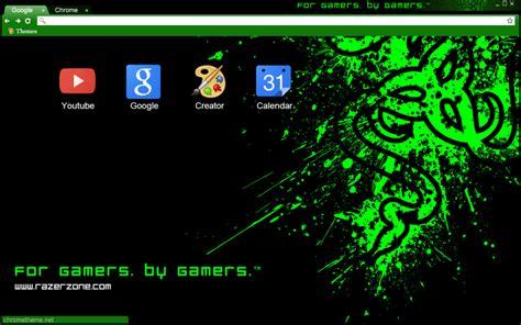 Theme Google Chrome Razer | razer chrome theme by dioarrd on deviantart