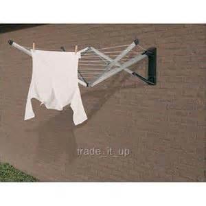 Brabantia Clothes Dryer Brabantia Wallfix Wall Mounted Clothes Dryer 24mts New Ebay