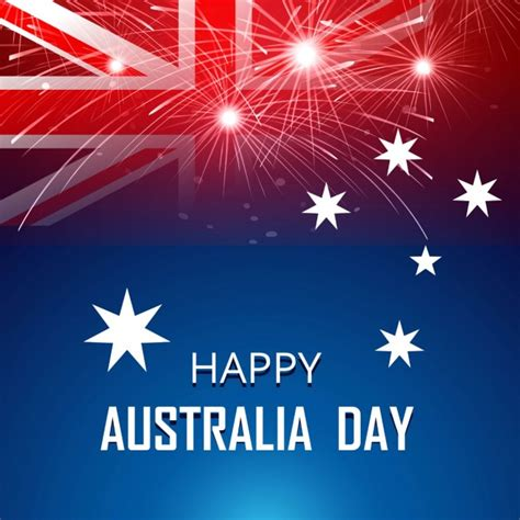 free happy day images happy australia day card vector free