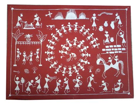 Diwali Home Decorations warli painting at best prices shopclues online shopping