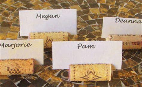 wine cork name card holders diy 11 diy wine cork place card holders guide patterns