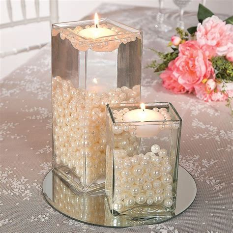 water pearl centerpieces best 20 water centerpiece ideas on