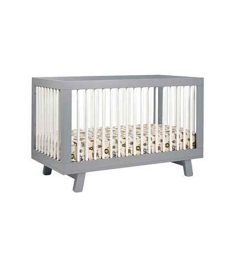 crib conversion kit babyletto hudson 3 in 1 convertible crib with toddler bed conversion kit in grey white