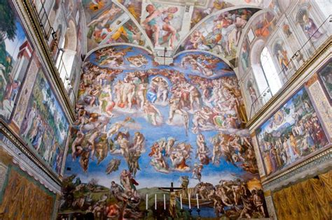 Michelangelo Sistine Ceiling by Sistine Chapel Quotes Like Success