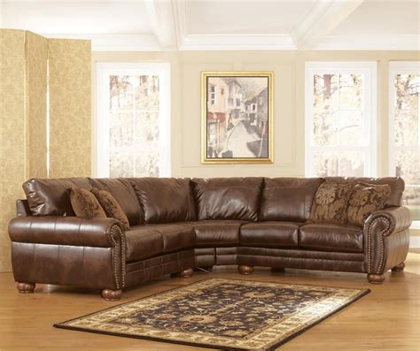 durablend antique stationary sofa sectional  signature