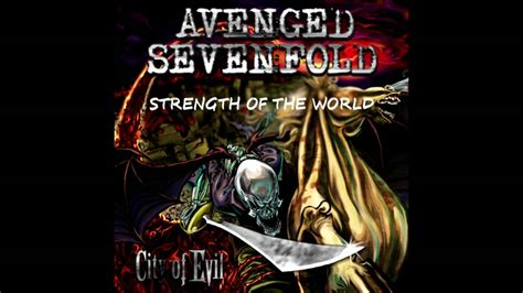 a7x strength of the world instrumental avenged sevenfold strength of the world instrumental