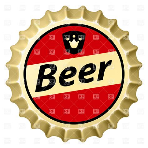 beer vector beer bottle cap clip art cliparts