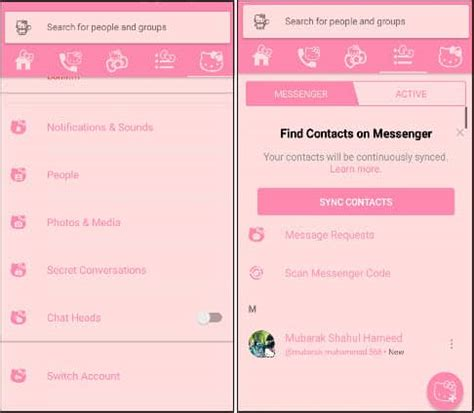 hello kitty messenger themes apk download facebook and messenger themes for android 2018
