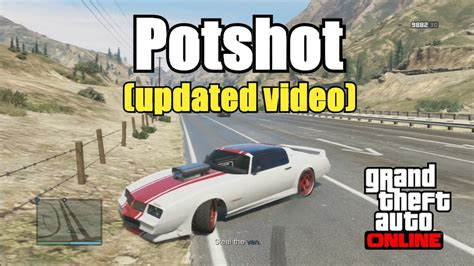 Best Money Making Mission Gta 5 Online - gta v online potshot mission updated video no glitch fast easy money after